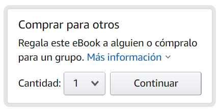 Cómo regalar un libro Kindle 1