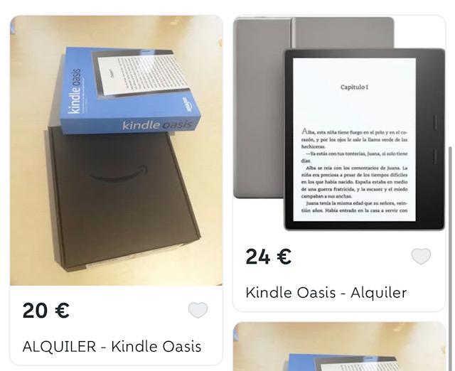 Alquiler de Kindle Oasis 1